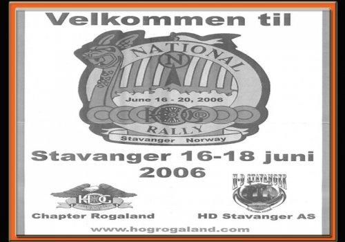 National Rally Stavanger 2006