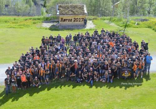 H.O.G. Rally Røros fellesbilde